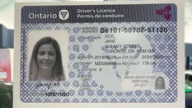 Photo of Ford government reveals updated driver's licence card to prevent fraud, identity theft