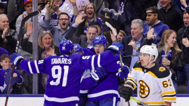 Photo of Leafs move past Kadri suspension, beat Bruins to grab 2-1 series lead