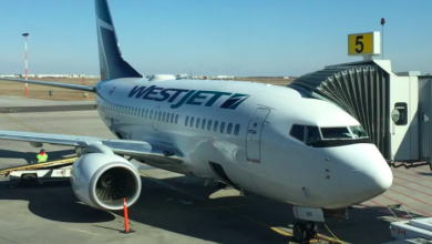 Photo of WestJet sued over failed attempt to store overhead luggage