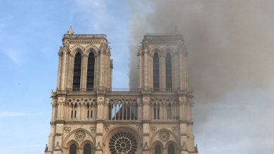 Photo of Incêndio na catedral de Notre-Dame de Paris