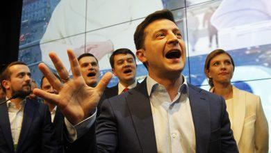 Photo of Comediante eleito presidente na Ucrânia quer relançar paz com a Rússia