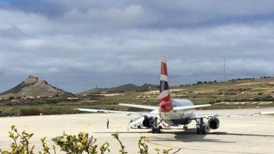 Photo of Avião da British Airways em Porto Santo