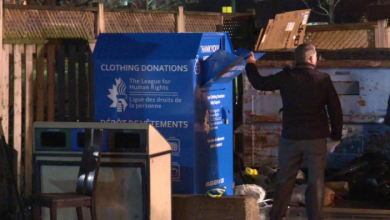 Photo of Toronto considers clampdown on clothing donation bins after homeless woman's death