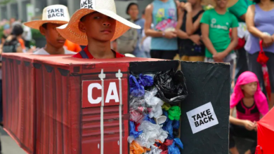 Photo of Canada's garbage coming back from the Philippines
