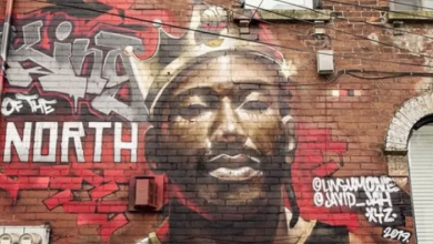 Photo of Raptors tattoos, murals and hype tracks: Canada readies for NBA Finals