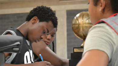 Photo of This Toronto program is teaching kids Pythagorean theorem — using basketballs