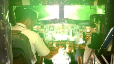 Photo of WestJet pilot's eyes burned by laser on flight from Newfoundland to Florida
