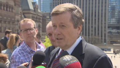 Photo of John Tory asks province to 'reverse' funding cuts, work together to find efficiencies