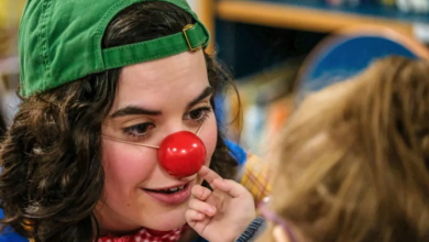 Photo of Clown therapy: Hospital team helps patients, parents 'through the hard times'