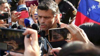 Photo of Espanha vai limitar atividades políticas de López na sua embaixada em Caracas