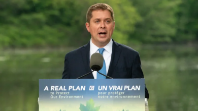 Photo of Andrew Scheer unveils climate plan promising 'green technology, not taxes'