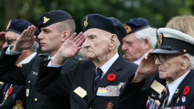 Photo of When the tide turned: Canadians hold massive D-Day event at Juno Beach