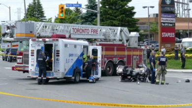 Photo of Man in 70s dead after Etobicoke motorcycle collision