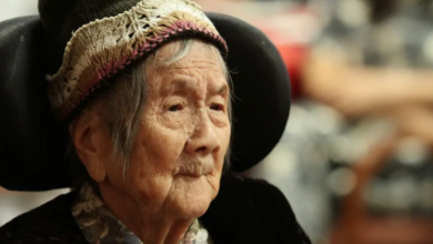Photo of This woman lived on her own until 107