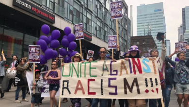 Photo of 'I really miss my family': Protesters demand universal rights for migrant workers