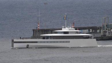 Photo of Iate de Steve Jobs escala no Funchal