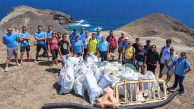 Photo of Porto Santo recolhe 300 quilos de lixo marinho