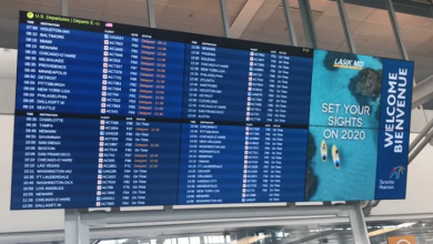 Photo of Security incident at Toronto's Pearson airport temporarily delays flights to U.S.