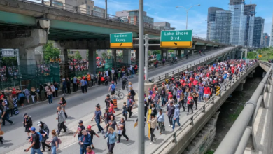 Photo of Raptors Toronto victory parade marred by organizational problems