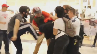 Photo of Police investigating clash inside Eaton Centre during Dyke March