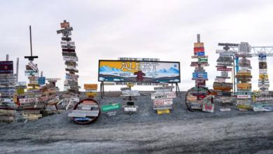 Photo of Alert, Nunavut, is warmer than Victoria
