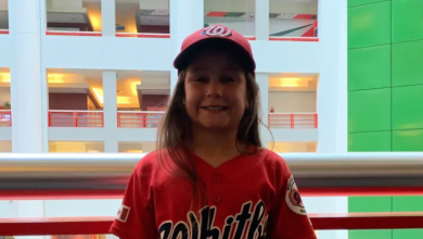 Photo of Ontario girl, 8, invited to play in all-girls baseball tournament in U.S.