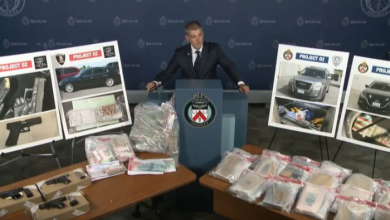 Photo of Police raids yield drugs, guns and cash in Toronto area and Windsor