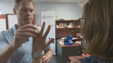 Photo of ER doctor, students invent device for common hospital complaint: rings stuck on fingers