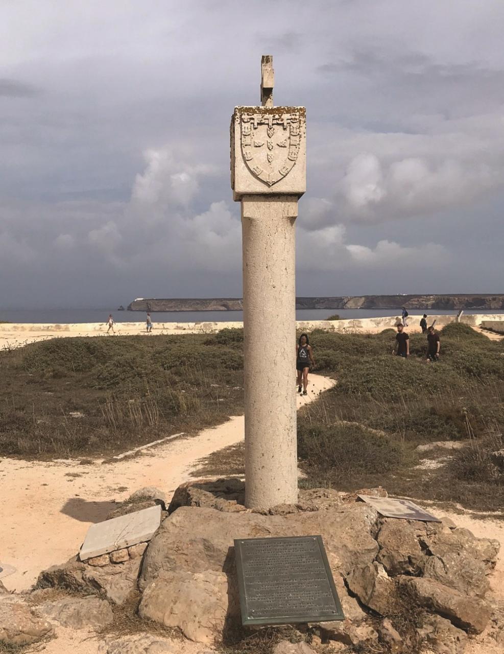 Brazão para marcar os territórios descobertos em África
