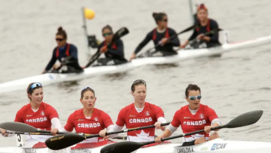 Photo of Women kayakers win Canada's 1st Pan Am Games gold medal