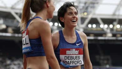 Photo of Gabriela DeBues-Stafford shatters longstanding Canadian 1,500m record