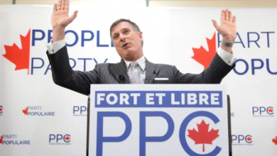 Photo of Maxime Bernier's false claim about Canada's 'subsidized' immigrants