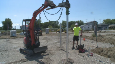 Photo of Contractor says more residents installing screw piles to mitigate overland flooding