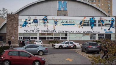 Photo of St. Michael's College School reinstating football program after hazing scandal