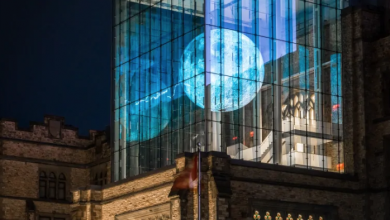 Photo of Museum of Nature marks lunar landing's anniversary with glowing 'supermoon'