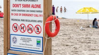 Photo of Police identify Brampton man who drowned at Wasaga Beach