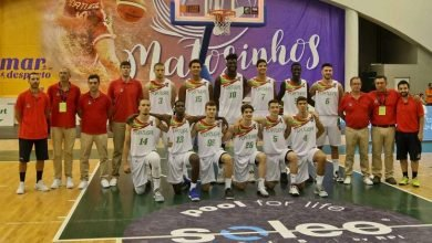 Photo of Portugal sagra-se campeão europeu de basquetebol sub-20 (divisão B)
