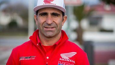 Photo of Paulo Gonçalves em terceiro lugar na quinta etapa do rali Rota da Seda