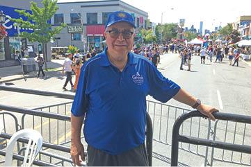 Andonis Artemakis, presidente Greek Community of Toronto Créditos: Joana Leal