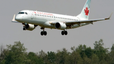 Photo of Air Canada to temporarily suspend flights to U.S.