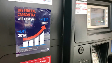 Photo of New law forcing Ontario gas stations to display anti-carbon tax stickers kicks in