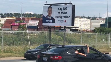 Photo of After outcry, company to remove pro-Bernier billboards that criticize 'mass immigration'