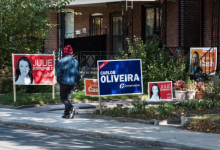 Photo of 60 days out from a federal election, lawn signs are starting to appear