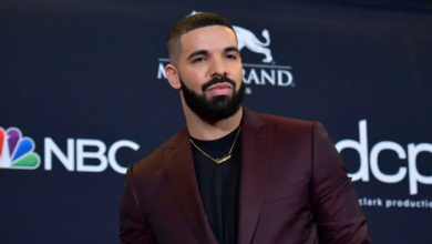 Photo of Drake shares tattoo of Abbey Road cover after breaking The Beatles' chart record