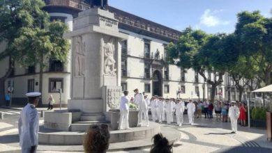 Photo of Marinha homenageia João Gonçalves Zarco no Funchal