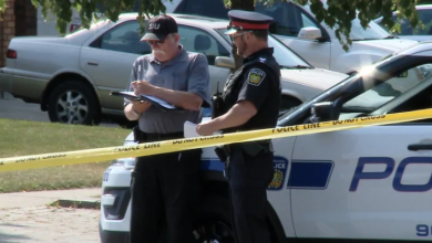 Photo of Police search for fugitive who allegedly shot woman, stole police cruiser in Peel