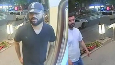 Photo of 3 men wanted in connection with alleged pizza delivery scam