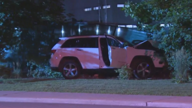 Photo of Driver dies after being shot in North York