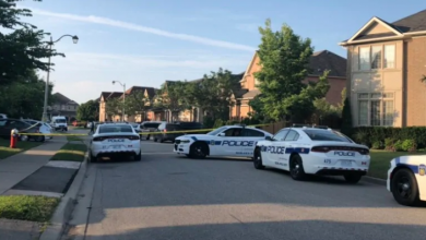Photo of Father killed, son wounded after double stabbing in Brampton