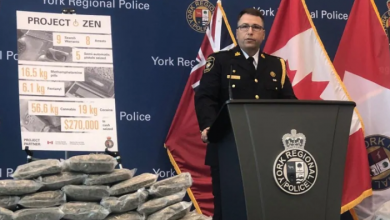 Photo of $45M worth of drugs seized in massive Toronto-area organized crime busts